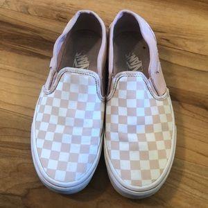 Vans Slip On Checkerboard Skate Shoes
